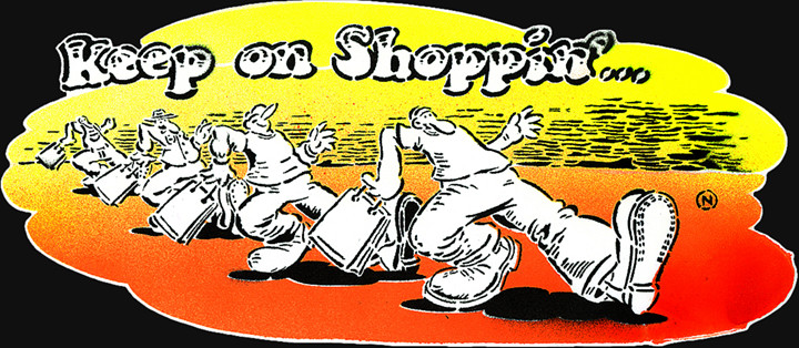 keep on shoppin