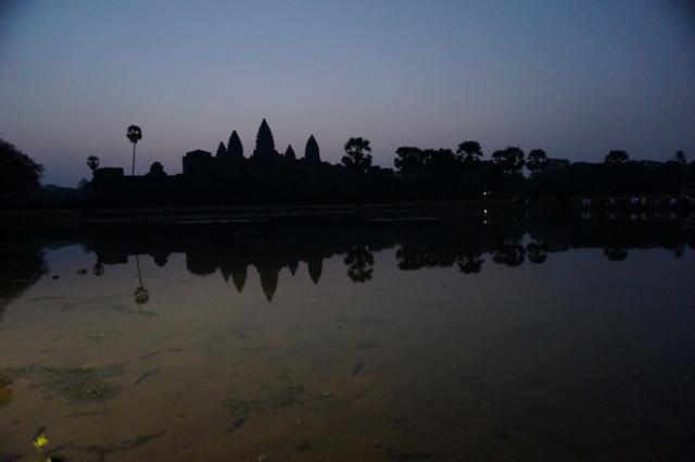 カンボジアのANGKOL(アンコールワット)