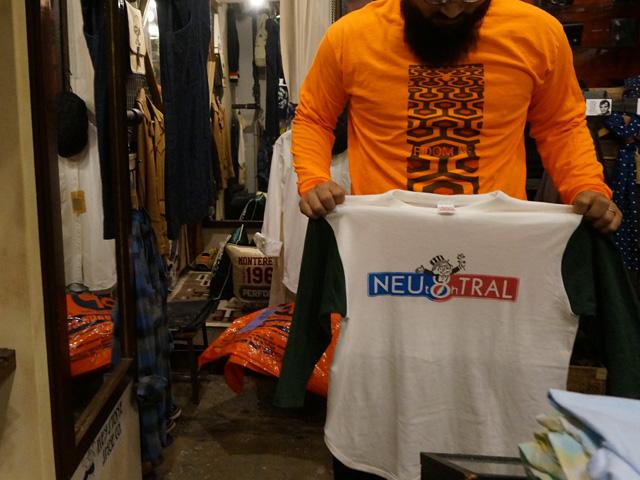 neutral ニュートラル ステンシルTシャツ SHAKEDOWNTRADING シェイクダウントレーディング