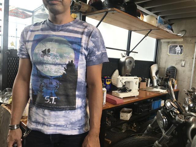 neutral ニュートラル stencil ステンシルTシャツ tiedye タイダイ