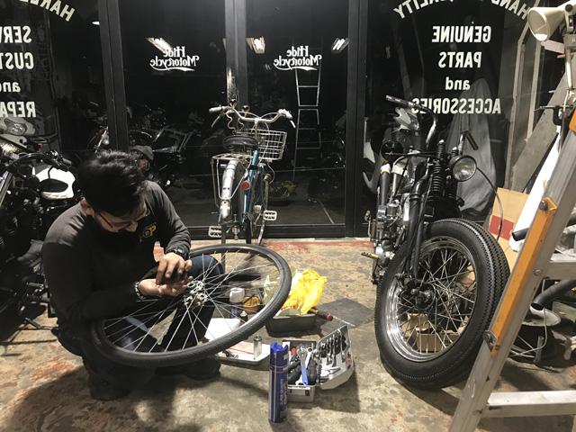 自転車屋POP hidemo ヒデモ