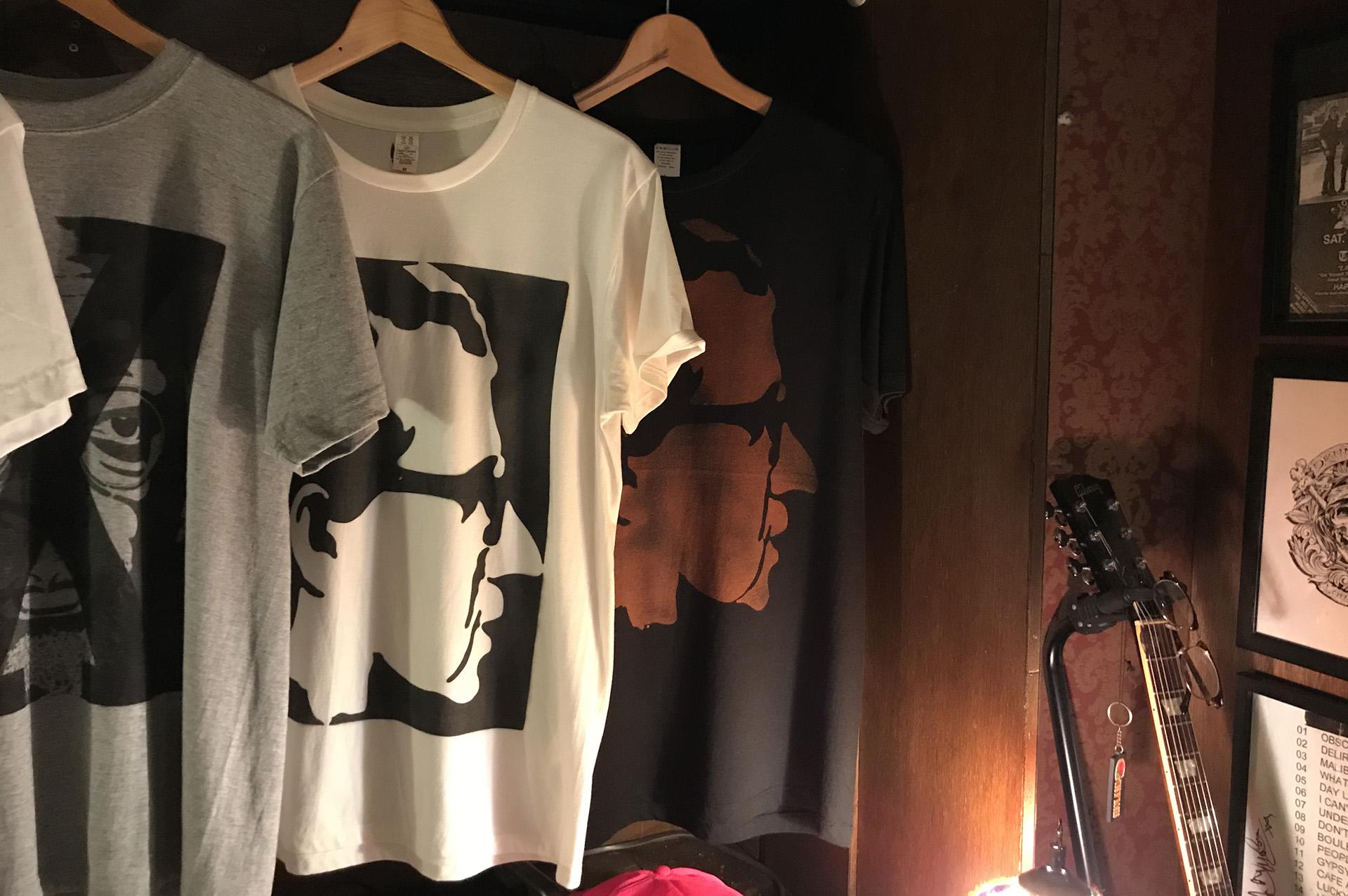 ウディアレン neutral ニュートラル ステンシルTシャツ
