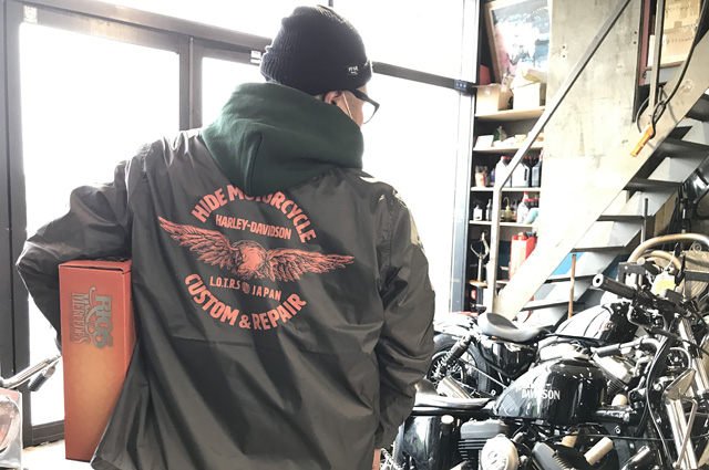 NEUTRAL COACHJACKET hidemo ヒデモ ニュートラル コーチジャケット hidemotorcycle ヒデモーターサイクル