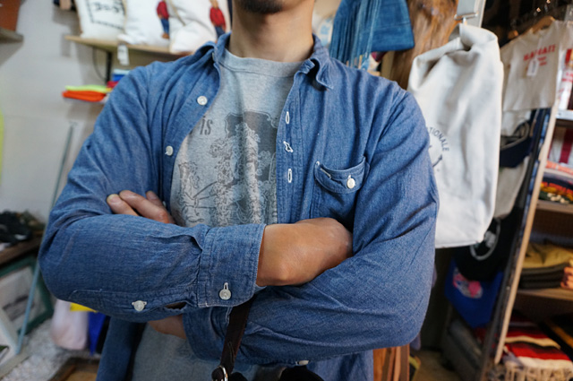 neutral(ニュートラル)製のstencil t-shirt(ステンシルtシャツ)