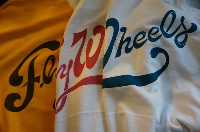 FLYWHEELS フライウィール NEUTRAL ニュートラル STENCIL ステンシルTシャツ