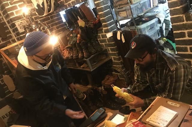福禄寿 FUKUROKUJU ブーツリペアショップ バナナスラッグ