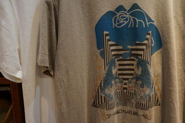 gohemp ゴーヘンプ gowest ゴーウェスト NEUTRAL ニュートラル ステンシルTシャツ