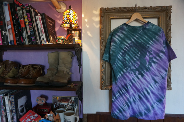 NEUTRAL(ニュートラル)作成のタイダイSTENCIL T-SHIRT(ステンシルTシャツ)の画像