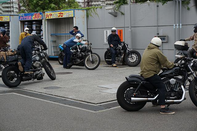 ヒデモ  hidemo ヒデモーターサイクル hide motorcycle ハーレー ハーレーダビッドソン ツーリング