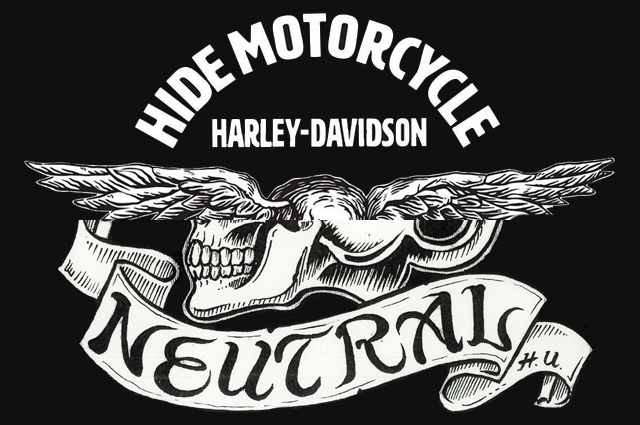 neutral ニュートラル popup ポップアップ ヒデモーターサイクル hidemotorcycle