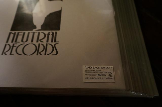neutral ニュートラル ステンシル lp レコード