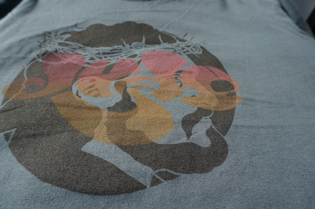名古屋 DUDE neutral(ニュートラル) ステンシルtシャツ