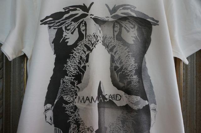 NEUTRAL ニュートラル STENCIL ステンシルTシャツ MAMASAID