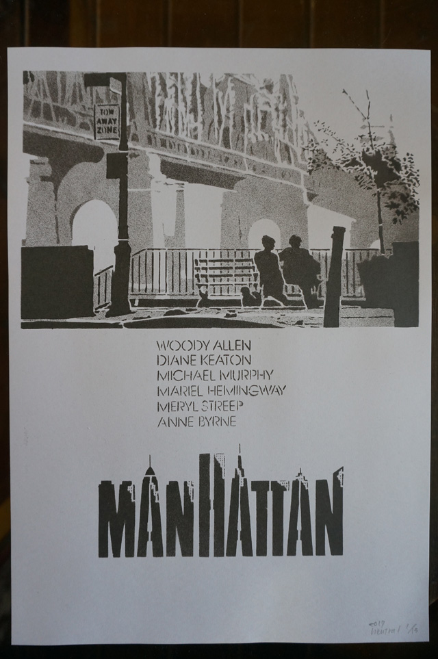 NEUTRAL ニュートラル STENCIL ステンシルTシャツ MANHATTAN マンハッタン