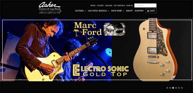 ASHER GUITAR アッシャーギター MARC FORD マークフォード シグネチャーモデル