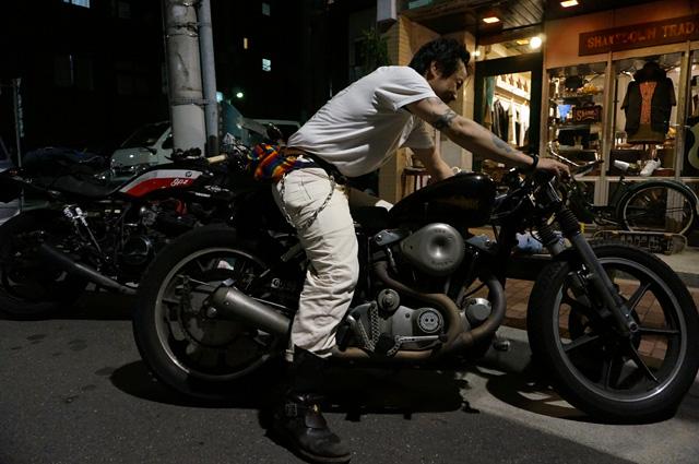 HIDE MOTORCYCLE(ヒデモーターサイクル) HIDEMO(ヒデモ)製のハーレーダビッドソン