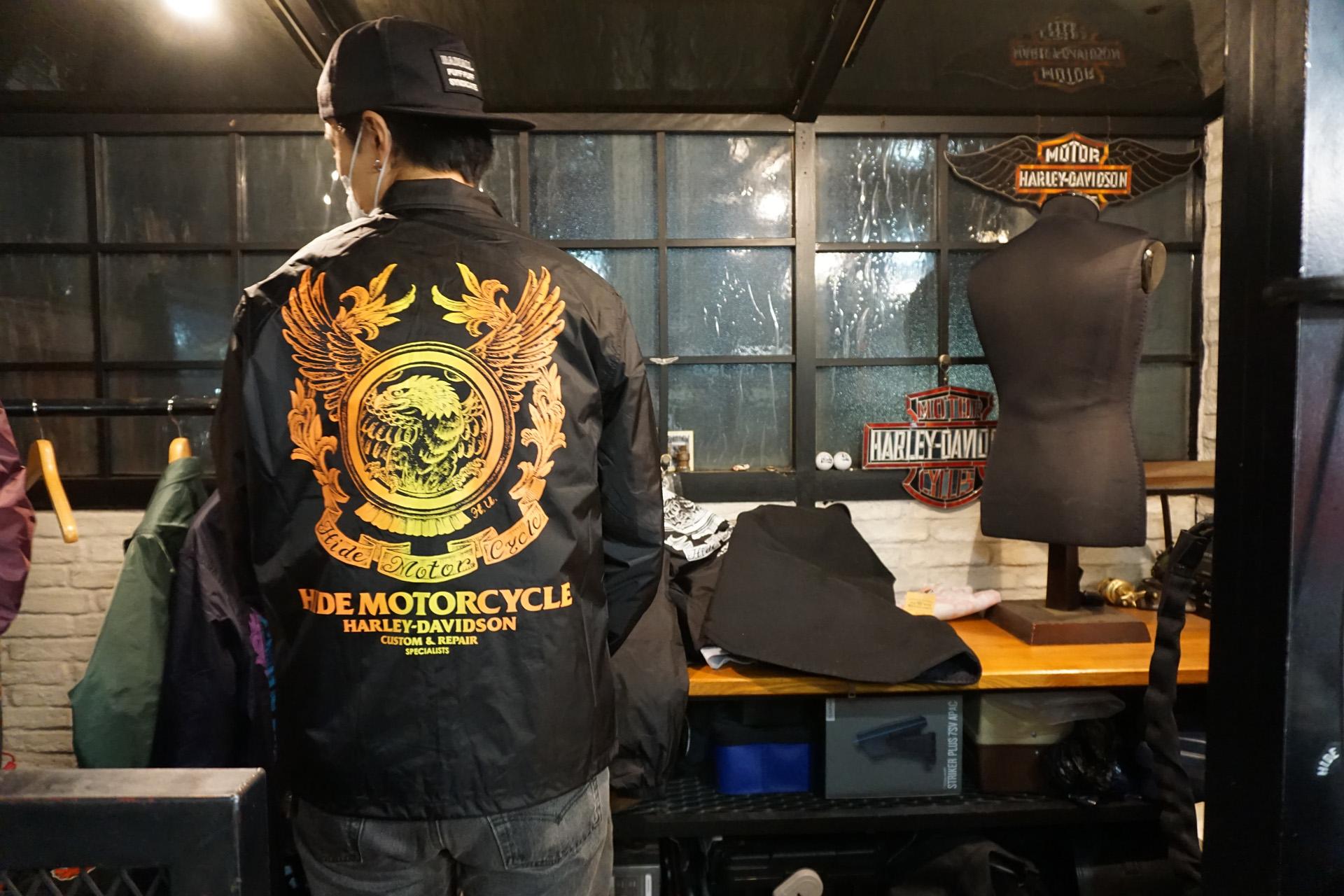 ニュートラル ヒデモーターサイクル コーチジャケット 10周年 neutral hidemortorcycle coachjacket 10th