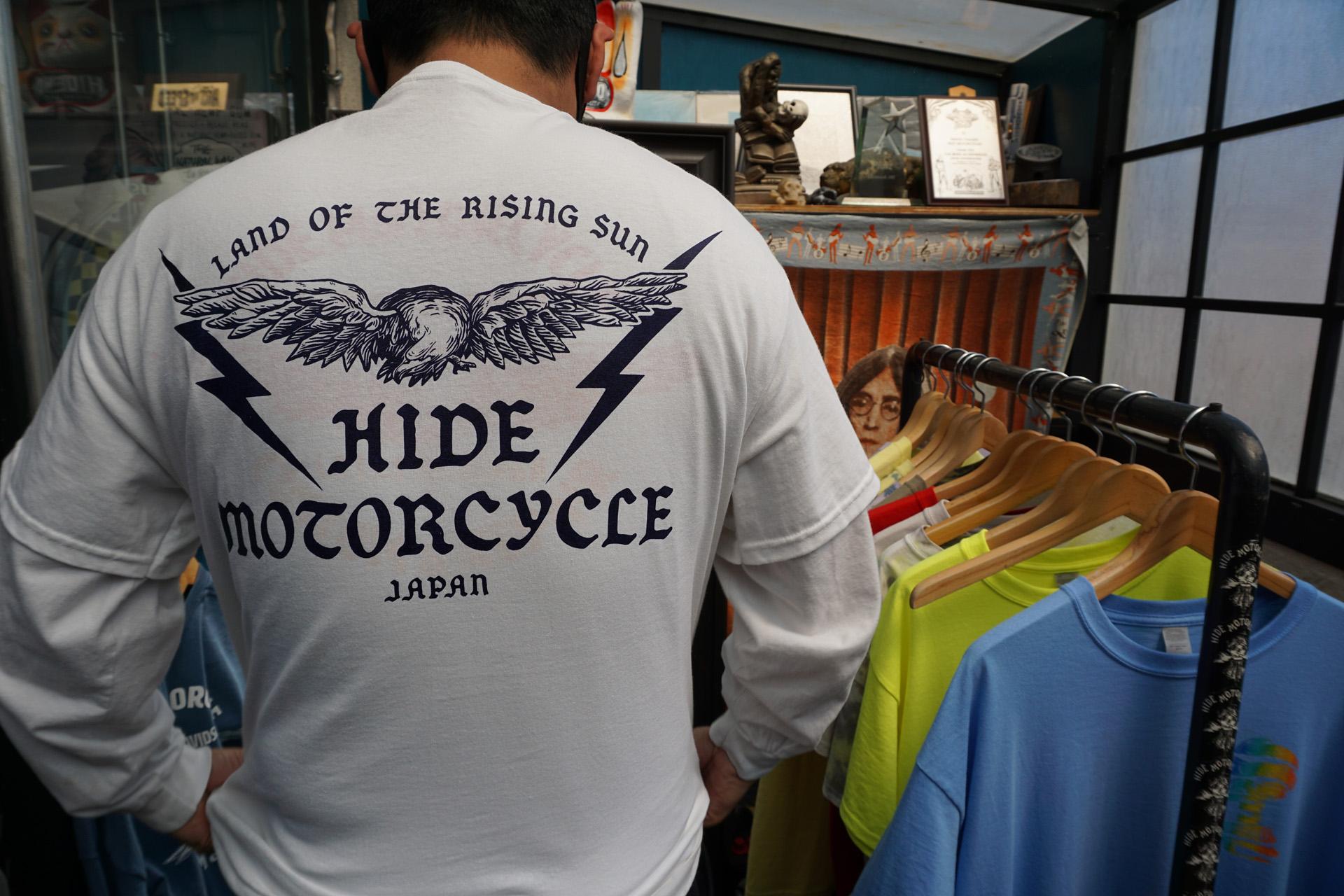 ニュートラル ヒデモーターサイクル neutral hidemortorcycle Tシャツ