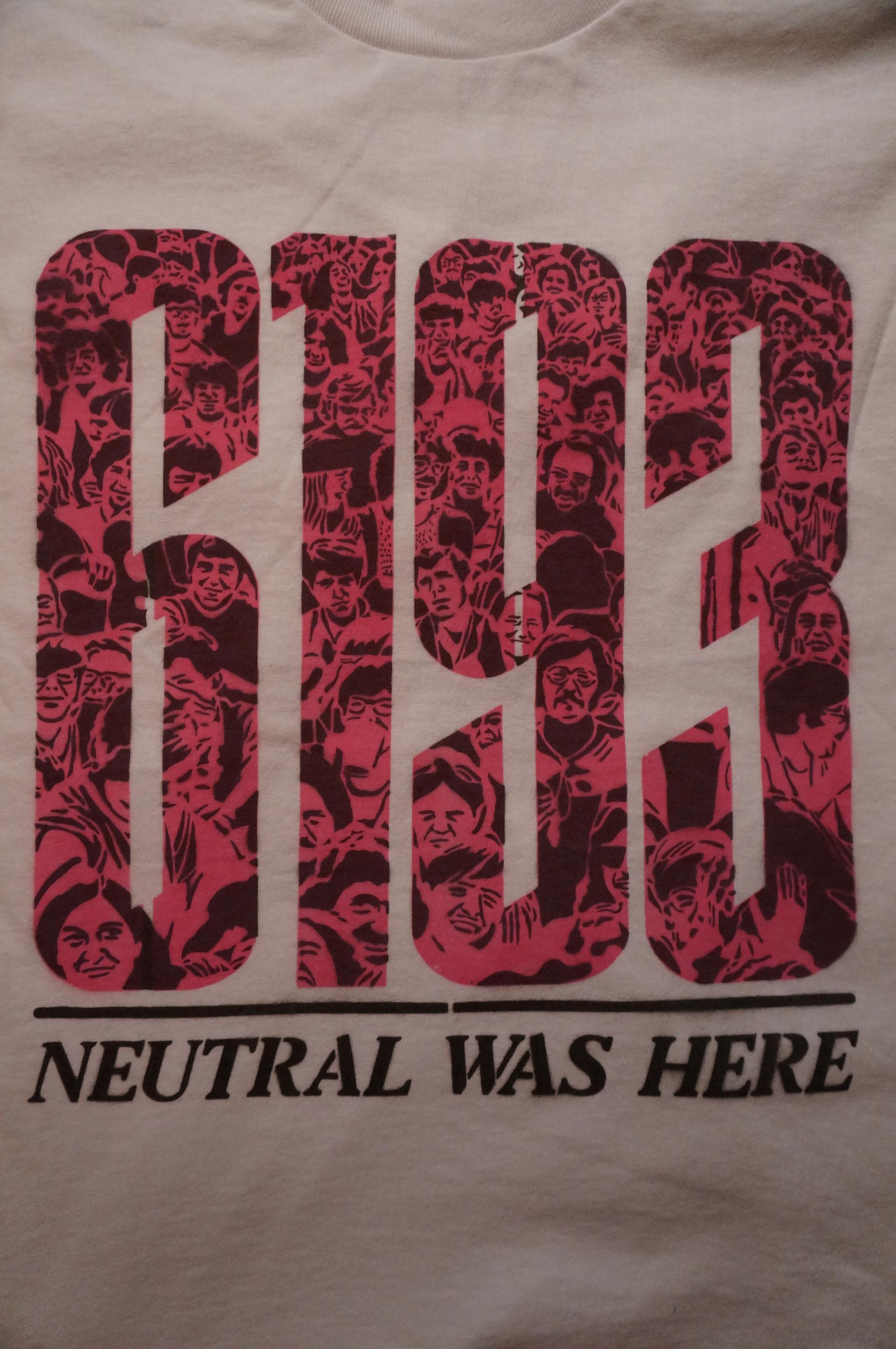 ニュートラル neutral ルードギャラリー rudegallery the6193 ステンシル