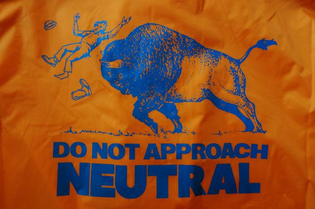 "NEUTRAL COACH JACKET ""BUFFALO"" ニュートラル コーチジャケット バッファロー"