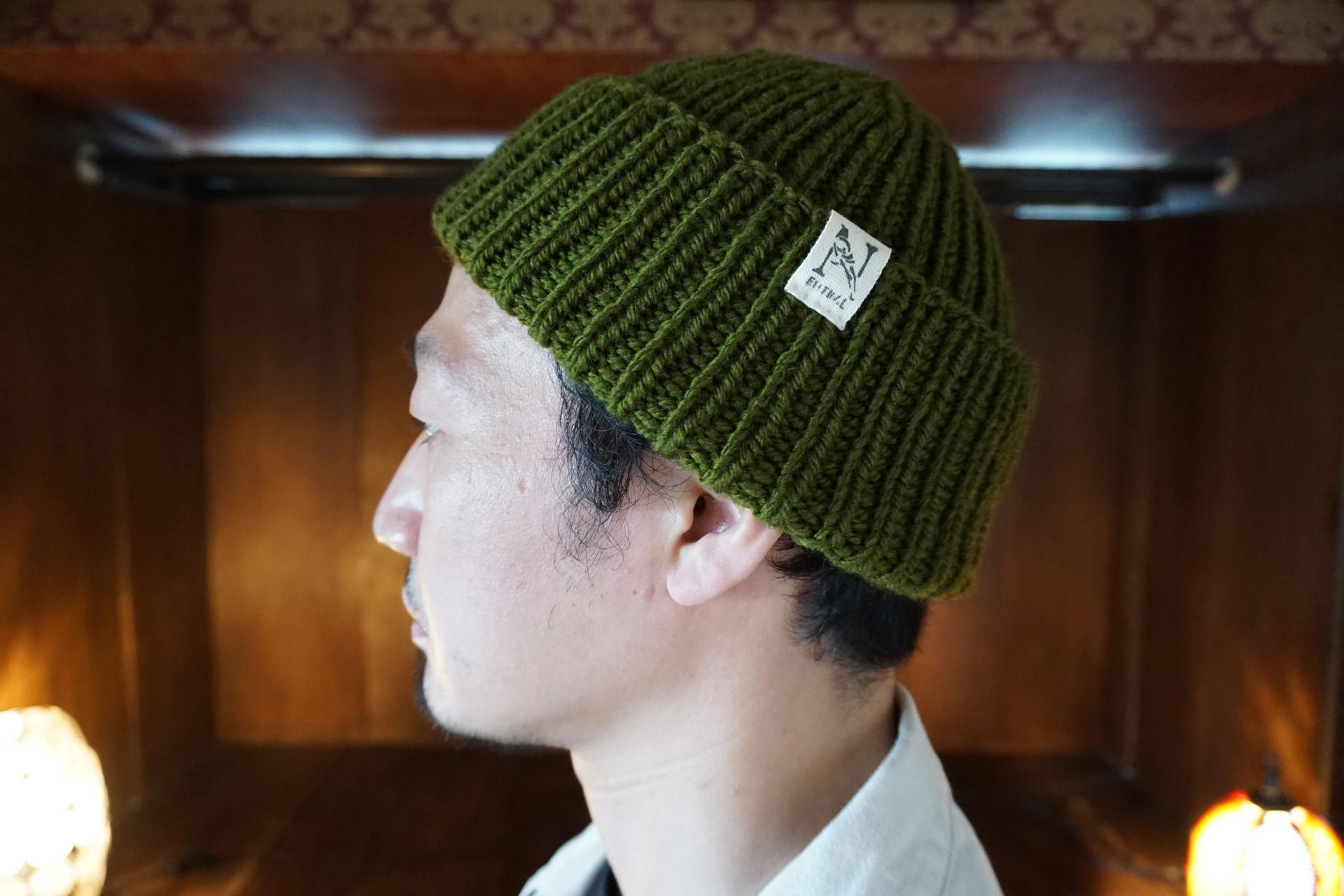 ニュートラル ニットキャップ neutral knitcap