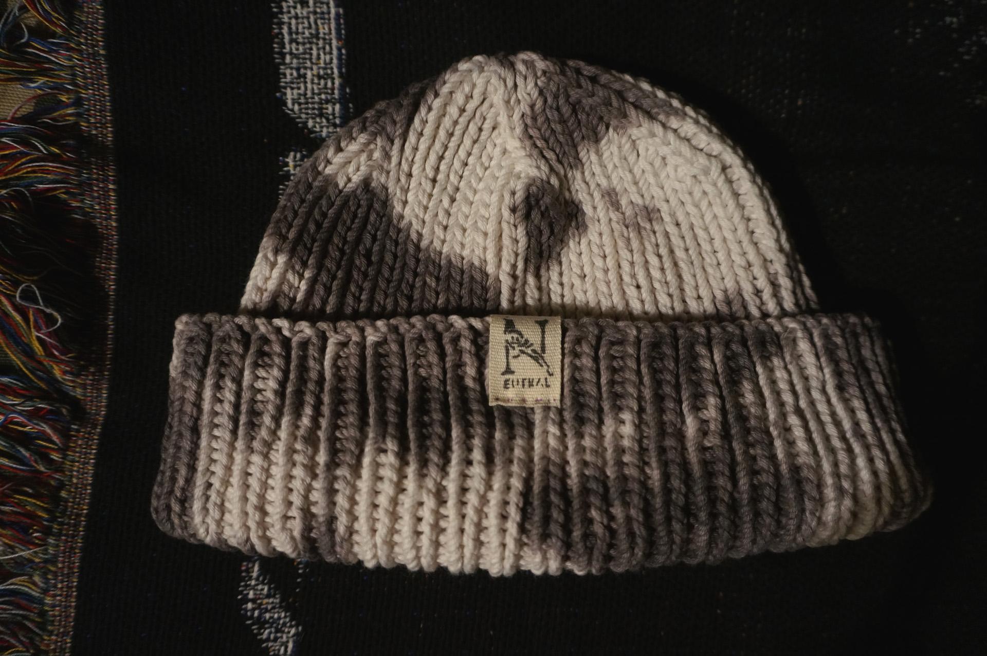 ニュートラル ニットキャップ タイダイ neutral knitcap tiedye