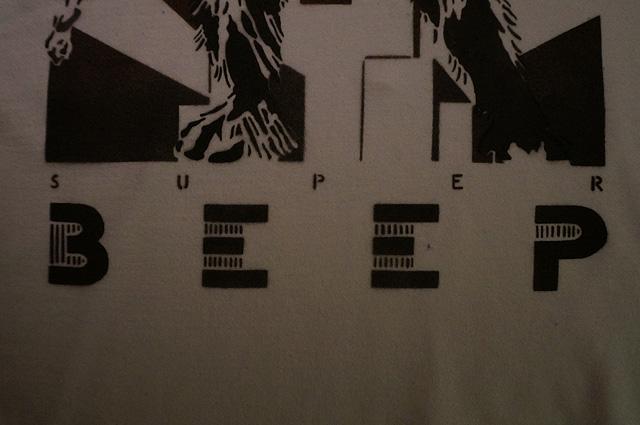 古河市,CAFE LOUNGE BEEP,ビープ,ステンシル,Tシャツ,NEUTRAL,ニュートラル