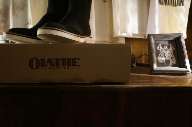 OLATHE BOOTS(オレイサ ブーツ)