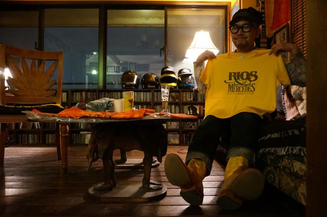 RIOS OF MERCEDES(リオスオブメルセデス)のneutral(ニュートラル)製stencil t-shirt(ステンシルTシャツ)の画像