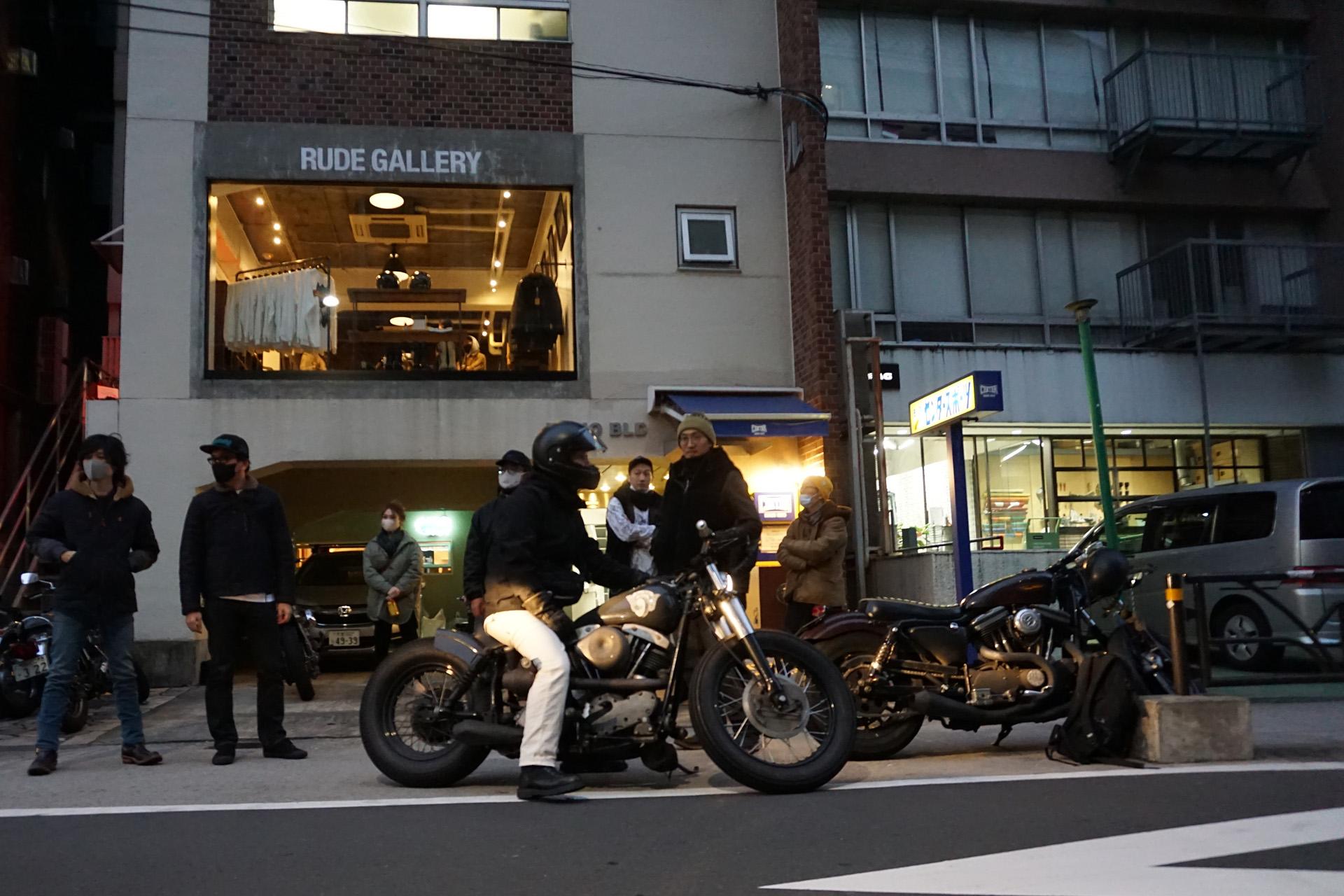 ニュートラル neutral ステンシルTシャツ ONTHEROAD'20 ヒデモーターサイクル ルードギャラリー hidemotorcycle rudegallery