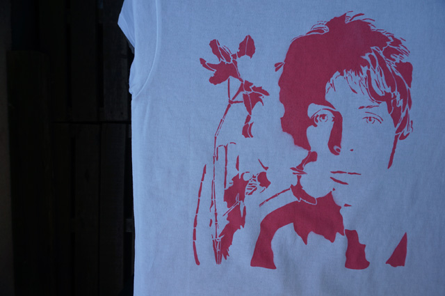 NEUTRAL ニュートラル ステンシルTシャツ