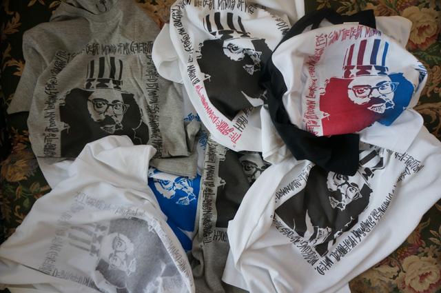 NEUTRAL(ニュートラル)製 ステンシルTシャツの画像