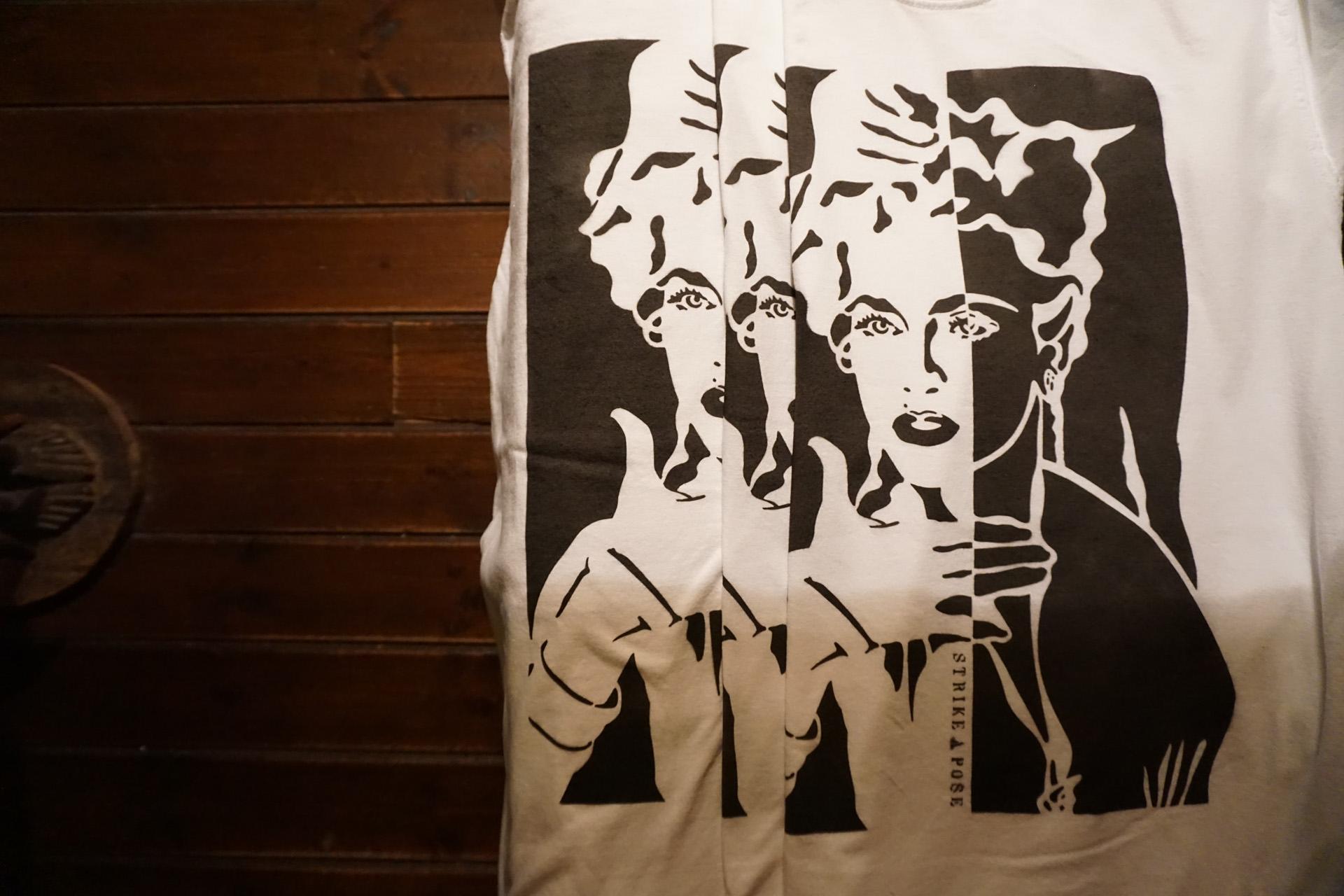 カセドラル ニュートラル ステンシルTシャツ タイダイ 大阪 船場 cathedral neutral stencil tiedye