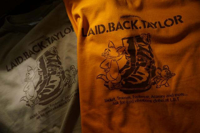 NEUTRAL ニュートラル LAIDBACKTAYLOR レイドバックテイラー 仙台 ステンシルTシャツ