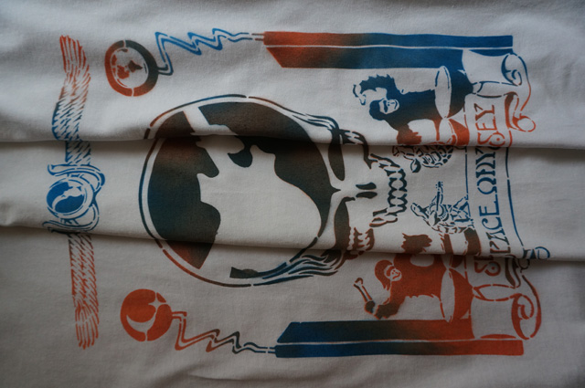 NEUTRAL ニュートラル STENCIL ステンシルTシャツ SHAKEDOWNTRADING シェイクダウントレーディング