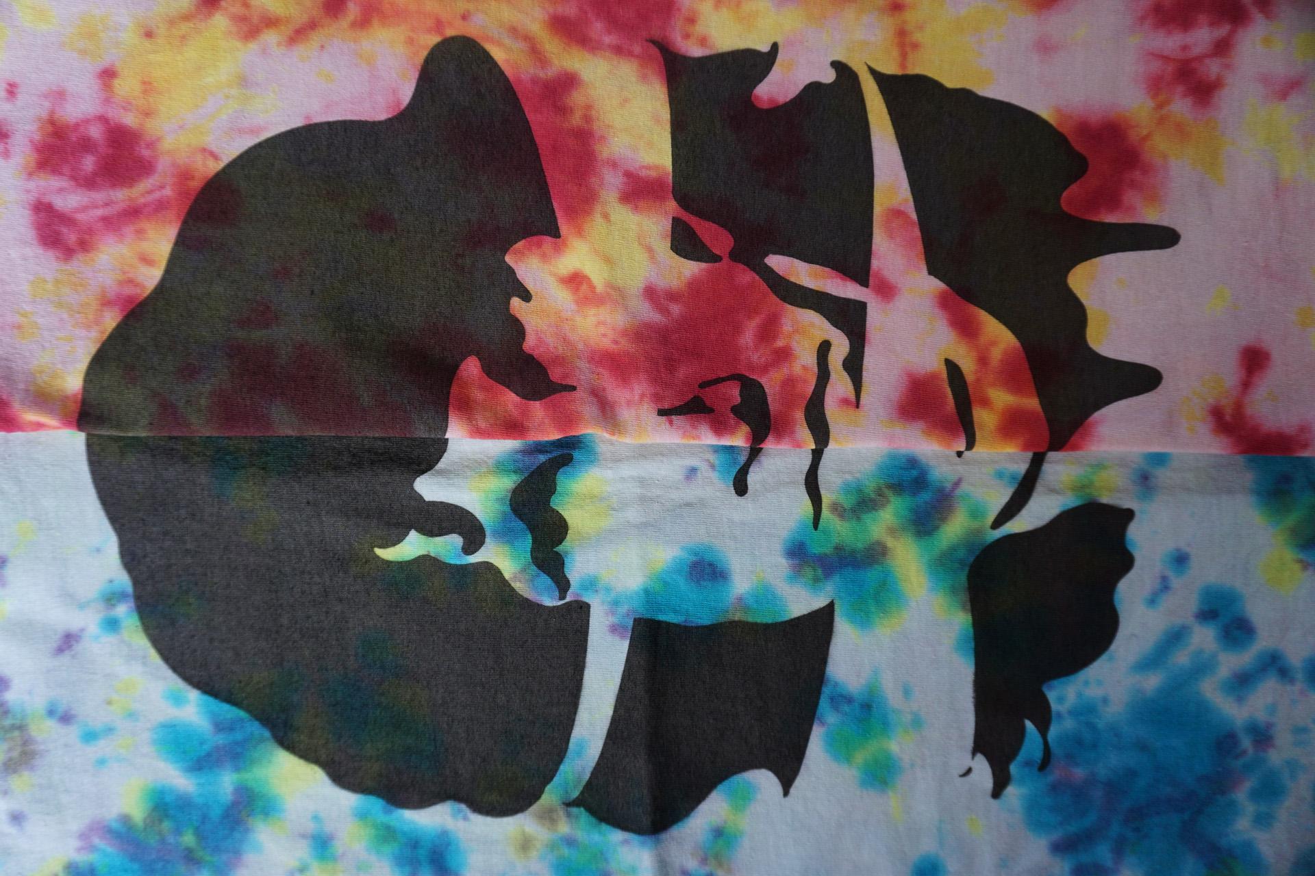 シェイクダウントレーディング ニュートラル ステンシルTシャツ shakedowntrading neutral stencil