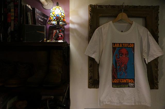 laidbacktaylor,L.B.T レイドバックテイラー LOSTCONTROL ロストコントロール NEUTRAL ニュートラル ステンシルtシャツ