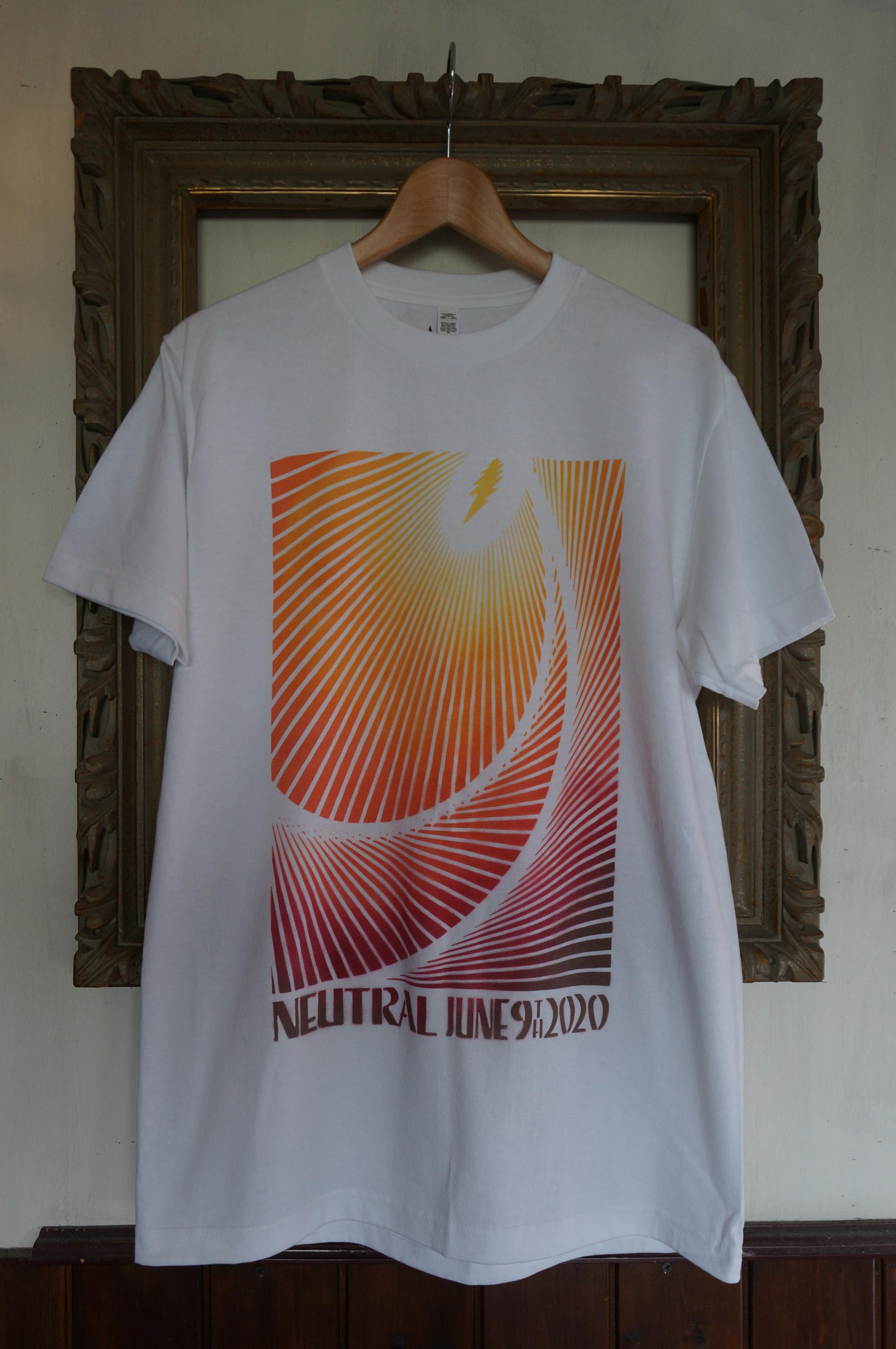 NEUTRAL ニュートラル 9tn anniversary 9周年 stencil ステンシルTシャツ