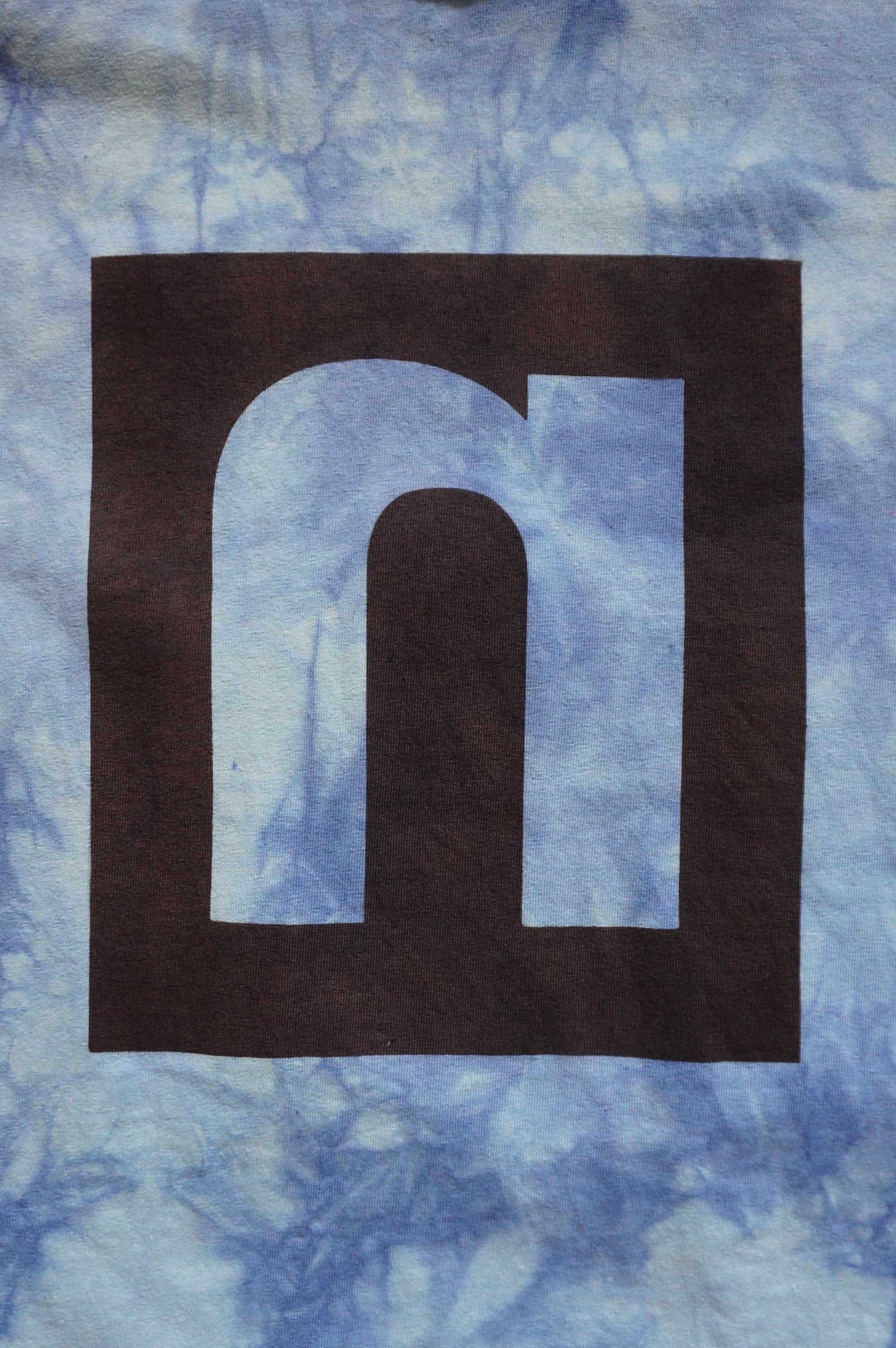 NEUTRAL ニュートラル 9tn anniversary 9周年 stencil ステンシルTシャツ tiedye タイダイ