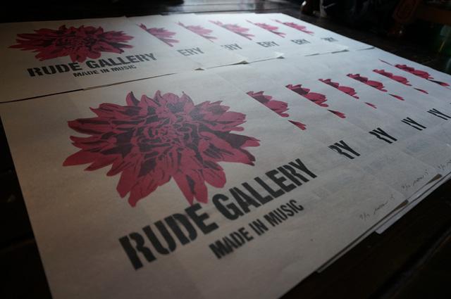 neutral ニュートラル stencil ステンシル rudegallery ルードギャラリー dahlia ダリア 20thanniversary 20周年