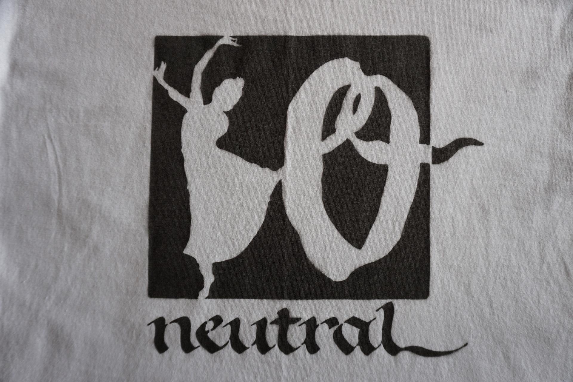 ニュートラル neutral ステンシル stencil Tシャツ 10周年