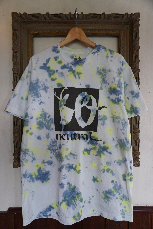 ニュートラル neutral ステンシル stencil Tシャツ タイダイ tiedye 10周年