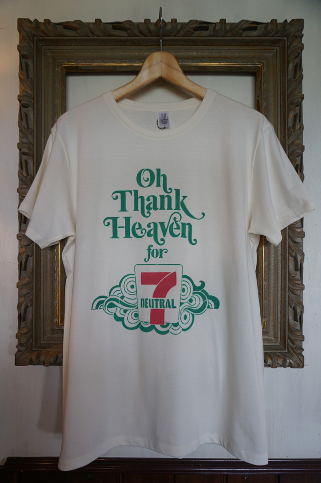 neutral(ニュートラル) 7周年 ステンシルtシャツ