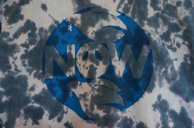 neutral(ニュートラル)のstencil t-shirt(ステンシルTシャツ)とタイダイの画像