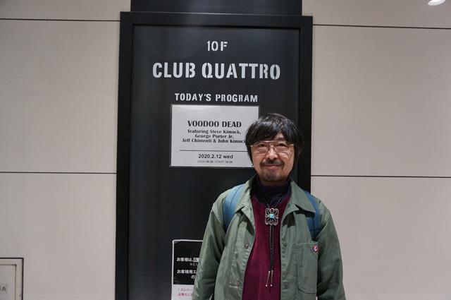 2020 大阪 クラブクアトロ OSAKA CLUBQUATTRO VOODOODEADJAPAN2020 ヴードゥーデッド SteveKimock スティーブキモック