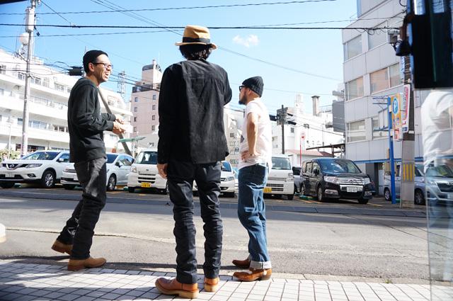 LAIDBACKTAYLOR レイドバックテイラー LOSTCONTROL ロストコントロール NEUTRAL ニュートラル NORTH EAST JAPAN TOUR 2018 ステンシルTシャツ