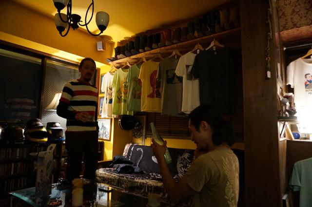 neutral(ニュートラル)のstencil t-shirt(ステンシルTシャツ)展示会「NEUTRAL STENCIL EXHIBITION VOL,9」の画像